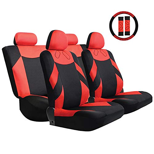 Autositzbezug-Set Universalzubehör Innen passend für i10 i20 ix35 DS DS3 DS4 DS5 DS6 DS7 Giulietta C5