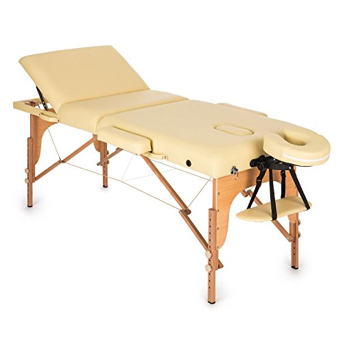KLAR FIT Klarfit MT 500 Table de Massage Pliable...