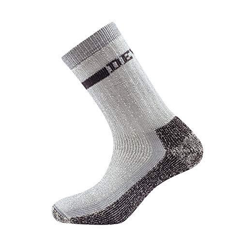 Devold Outdoor Heavy Sock Grau, Merino Socken, Größe 41-43 - Farbe Dark Grey