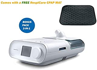 Philips_Respironics_DreamStation_Auto_CPAP Machine-with_Heated_Humidifier, Filter, SD Card, Carrying Case, Manual Book and_RespiCare-CPAP-MAT -(DSX500H11C)_