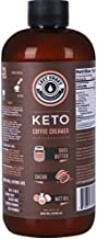 Keto Coffee Creamer with MCT Oil, Ghee Butter, Cocoa Butter, 16oz / 32 Servings. Must Blended. No Carb Keto Creamer for Coffee Booster. Unsweetened, Ketogenic, Low Carb by Left Coast Performance