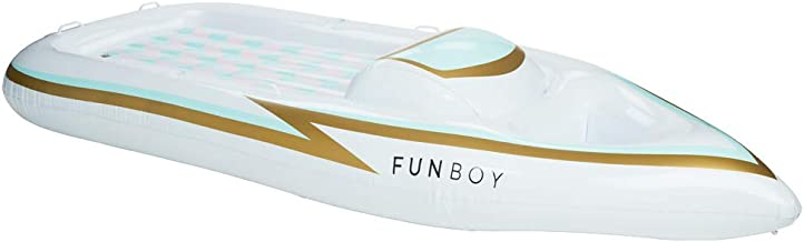 FUNBOY Giant Inflatable Pool Float Raft, Luxury, and Pool Party