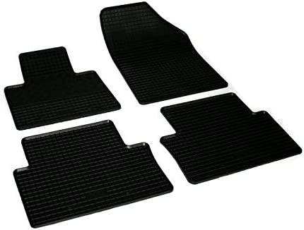 V-MAXZONE PARTS Black Rubber Don't miss the campaign Choice Car Floor All Weather Od Mats VD539