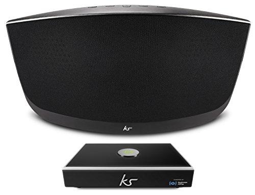KitSound KSEVOKELNK Contempo Bluetooth Lautsprecher / Link Multiroom Audio Wireless Music Streaming System mit Allplay und Spotify Connect im Set -