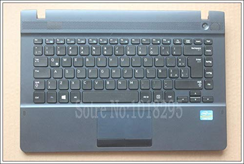 New for Samsung NP270E4E NP270E4V NP275E4V Latin LA Laptop Keyboard with White case Touchpad BA75-04629K