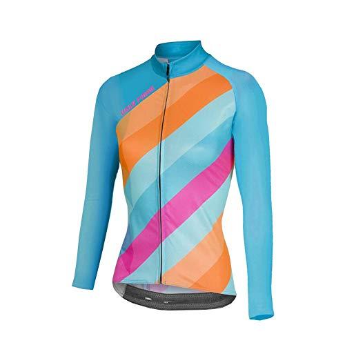 BurningBikewear Uglyfrog Nuevo Maillot Ciclismo De Mujer Otoño Manga Larga Ropa De Triatlon Transpirables CXWX04