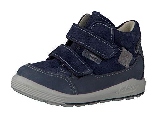 RICOSTA Pepino by garçon Bottes & Boots Zach, Bottes pour Enfants, Gamin Bottes,Bottes Velcro,imperméables à l'eau,Nautic,23 EU / 6 UK