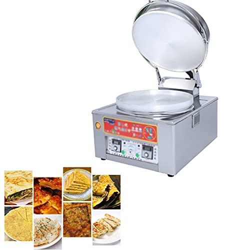 Máquina De Panqueques Comercial, Máquina De Panqueques De Gas Y Gas, Máquina De Panqueques con Control Automático De Temperatura, Utilizada En Triciclo