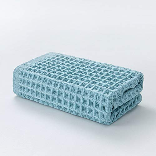 CMZ Toallas de algodón absorbentes Simples Toallas Lisas Generales para hoteles de Estilo japonés Toallas absorbentes para Parejas (34x74 cm)