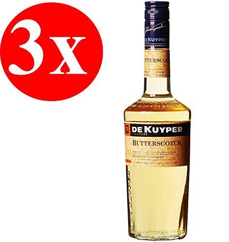 De Kuyper Butterscotch Liköre 3er Pack (3 x 0.7 l)