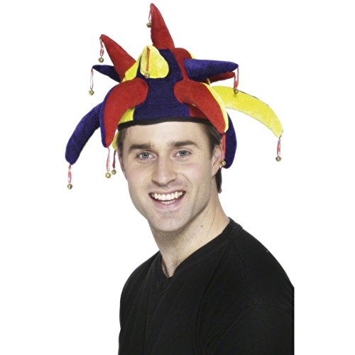 R.H.Smith & Sons Narrenkappe Narrenmütze Harlekin Hut Narren Mütze Kappe Karneval
