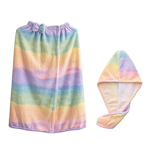 バスタオル ラップタオル 大人用 吸水性 肌触り 速乾 吸水 ふわふわ 柔らかい 着るバスタオル マイクロファイバータオル お着替えタオル