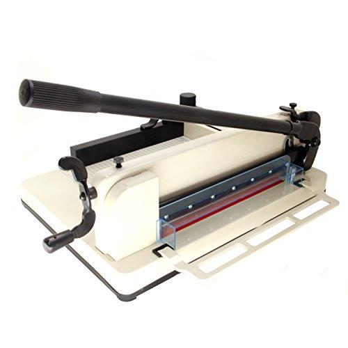 HFS (R) Heavy Duty Guillotine Paper Cutter -12'' (12'' Paper Cutter)