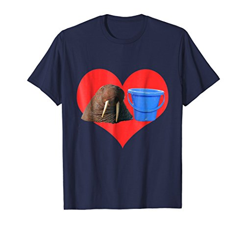 LOLrus in Love Walrus and Bucket T-Shirt