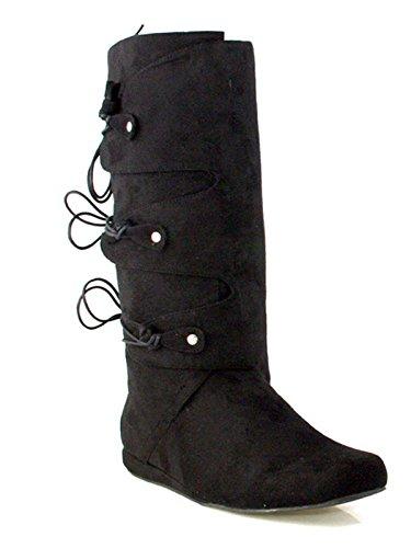 Ellie Shoes Thomas (Black) Adult Mens Boots