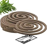 W4W Citronella Mosquito Repellent Coils - Outdoor Use Reaches Up to 10 feet - Each Coil Burns for...