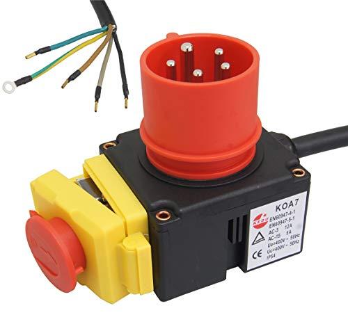 ATIKA Ersatzteil | 400V Schalter KEDU KOA7 (Phasenwender) für Holzspalter ASP 8 N