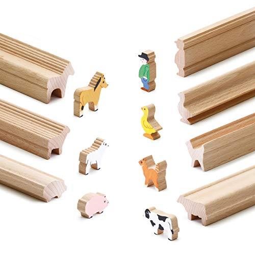 Erzi Moulding Wooden Toy Farm Craft-Juguete de Madera (45 x 11 x 60 cm), Multicolor, (41262)