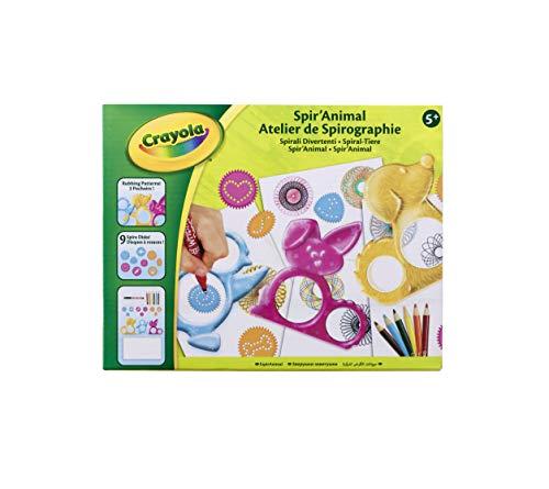 Crayola 12347 Spir'animal Kit, Yellow