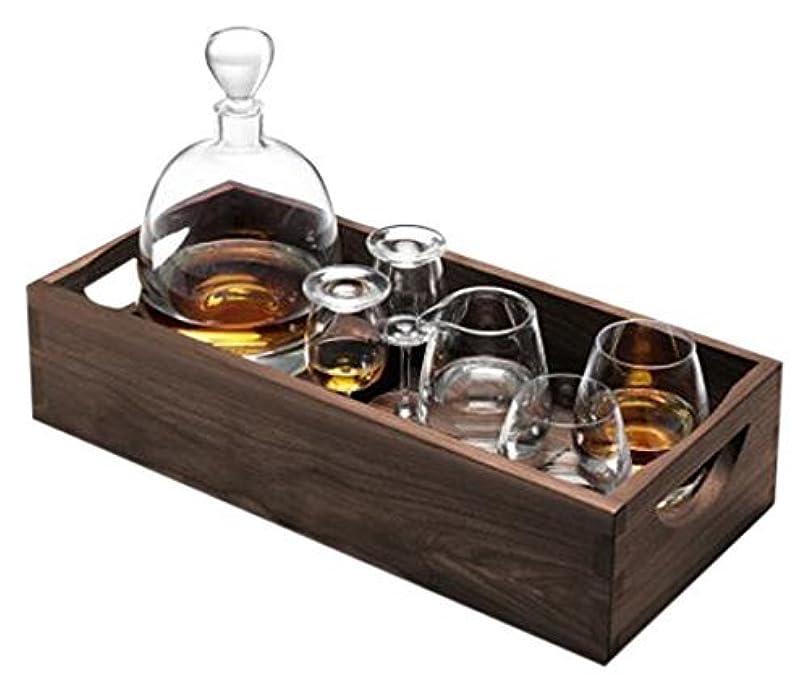 かろうじてメカニック快適LSA International G1219-00-301 Whisky Islay Connoisseur Set & Walnut Tray, 44cm