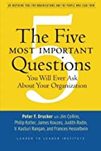 Best five most important questions drucker Reviews