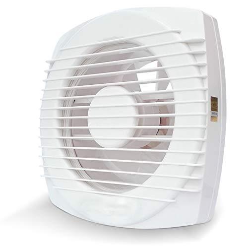 QIQIDEIDAN Uitlaat ventilator 6 inch ventilatie ventilator badkamer uitlaat ventilator muur glas raam badkamer uitlaat ventilator dubbele trekkoord