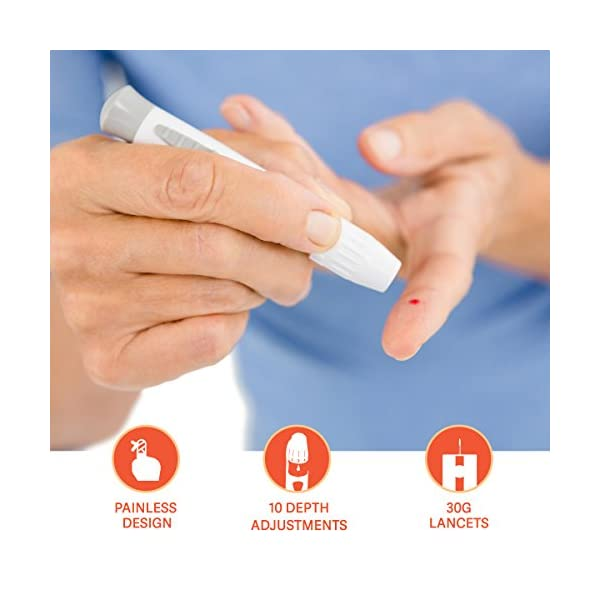 buy  Microlet Lancing Device, 3 Pack + 40 O'WELL ... Diabetes Care