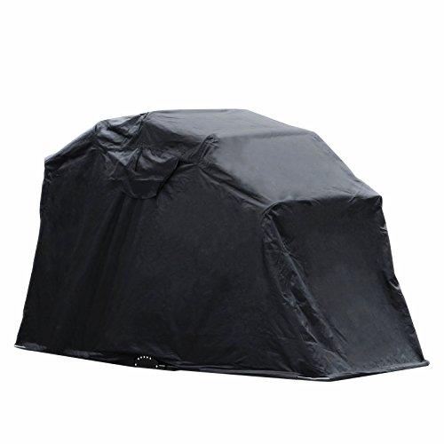 Popsport Motorcycle Shelter Storage Black Oxford 600D...