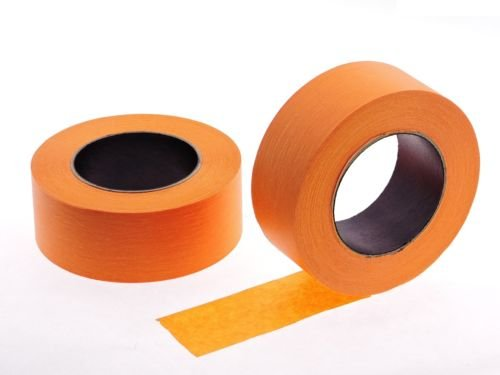 """2pk 2"""" x 60 yd Orange Painters Tape PROFESSIONAL Grade Masking Edge Trim Easy Removal (48MM 1.88 in)"""