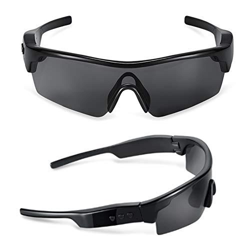 Wan&ya Gafas de Sol polarizadas para Ciclismo para Hombre Auriculares inalámbricos Bluetooth Deportivos con reducción de Ruido Control de Voz UV400 Correr Montar Gafas de Sol al Aire Libre