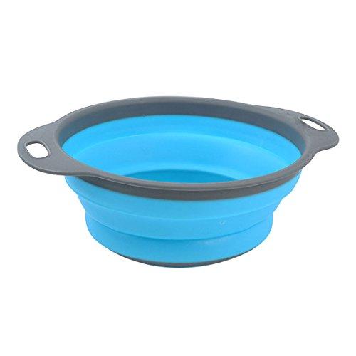 Utensilios De Cocina De Silicona Azul Marca Luwu-Store