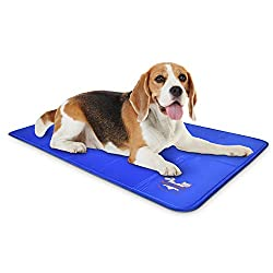 Dog Self Cooling Mat Pad for Kennels, Crates and Beds