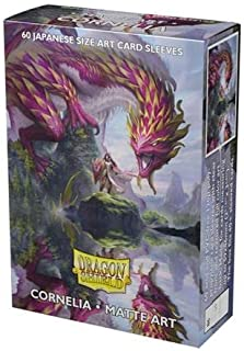 Arcane Tinmen Dragon Shield Sleeves - Matte Art Japanese Cornelia 60 CT – MGT Card Sleeves are Smooth & Tough – Compatible...