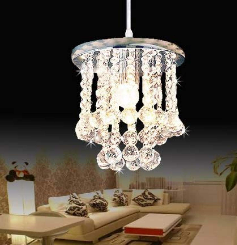 OIASD Moderne glnzende Kristall-LED-Kristallleuchter AC110-260 Kristalllampe Lampe LED-Lampe Wohnzimmerlampe