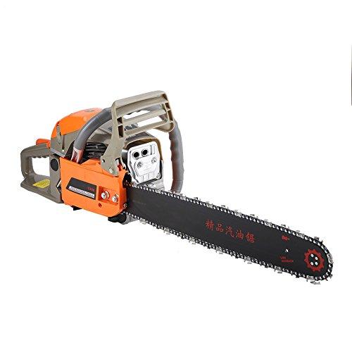 2200 W Sierra de cadena motosierra manual con motor de gasolina, longitud de hoja 50 cm