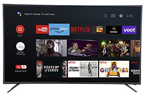 AKAI 140 cm (55 Inches) 4K Ultra HD Smart LED TV AKLT55U-DT55V (Black)