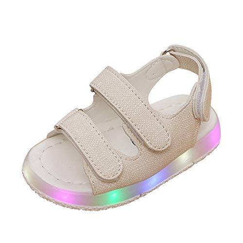 Sandalias para Baby Niña Zapatos para niñas con Luces LED Zapatos Verano...