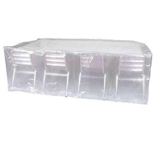 Ribiland 07353 Housse De Table Rectangulaire Transparent 220 M