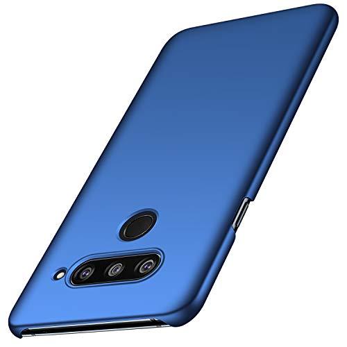 anccer LG V40 ThinQ Hülle, [Serie Matte] Elastische Schockabsorption & Ultra Thin Design für LG V40 ThinQ (Glattes Blau)