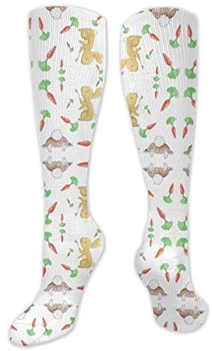 YYTY calcetines Bunny Wishes Graduated Compression Socks for