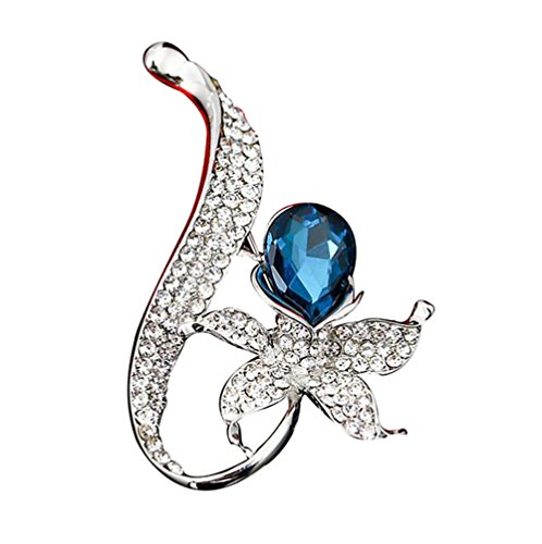 20x Vintage Papillon Cristal Broche Mariage Bijoux Broche Organza Sacs