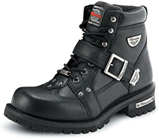 Milwaukee Motorcycle Clothing Company Men's Road Captain Motorcycle Boots (Size 10.5D)