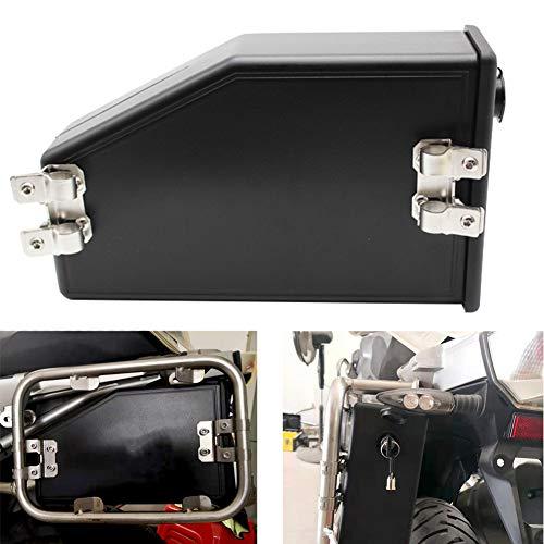 GCDN Seitenhalterung für R1200GS R1250GS F750GS F850GS, Fahrzeug-Werkzeugkasten mit Schloss, wasserdichter Motorrad-Werkzeugkasten Aufbewahrungsbox für Kfz-Reparaturwerkzeuge