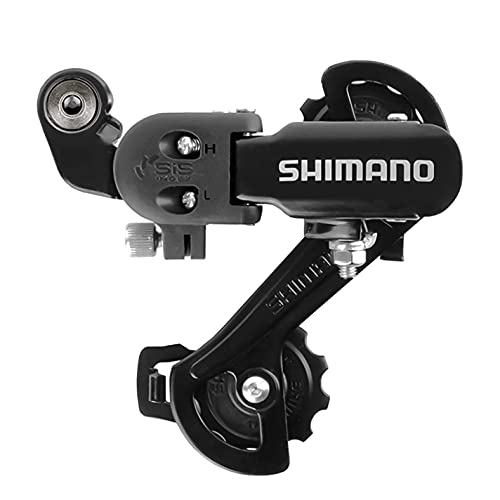 Hycline Shimano Bike Rear Derailleur RD-TZ31-A 6/7 Speed Direct Mount for Mountain Bicycle-Black