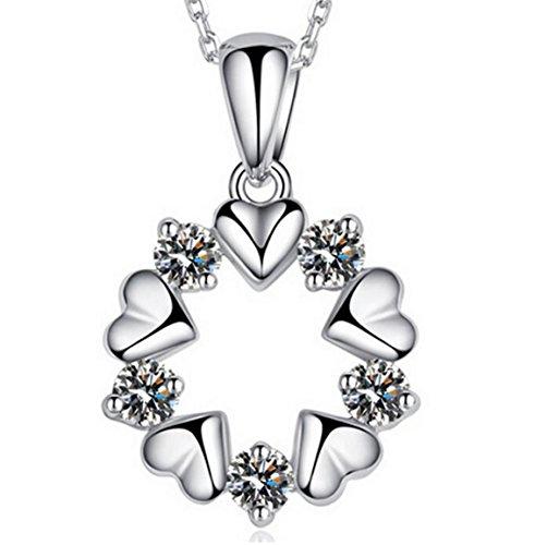 Private Twinkle 925Sterling Silber Blume Kristall Anhänger & # Sonnenschutz Sichtschutz Bj;