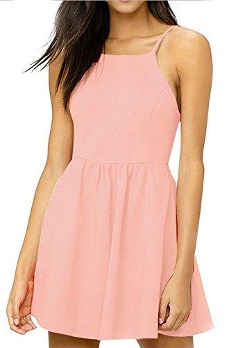 Smalltile zomerjurk voor dames, gevouwen, sexy, smal, rugvrij, cocktailjurk, modieus, bedrukt, mini-jurk