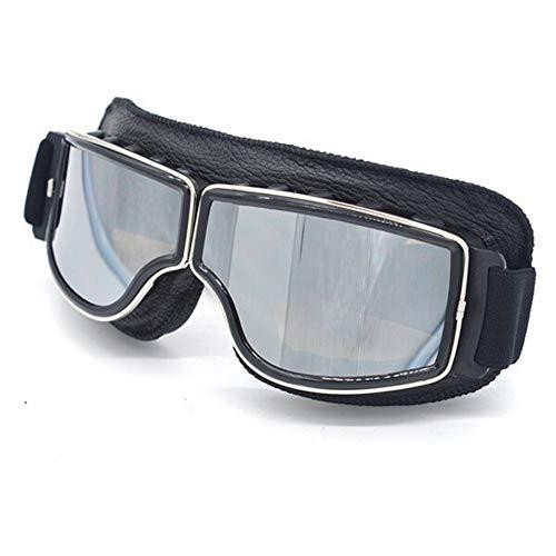 LLTT Universele Motorfiets Vintage Goggles Piloot Motorfiets Scooter Biker Bril Steampunk Goggles Voor Harley Helm
