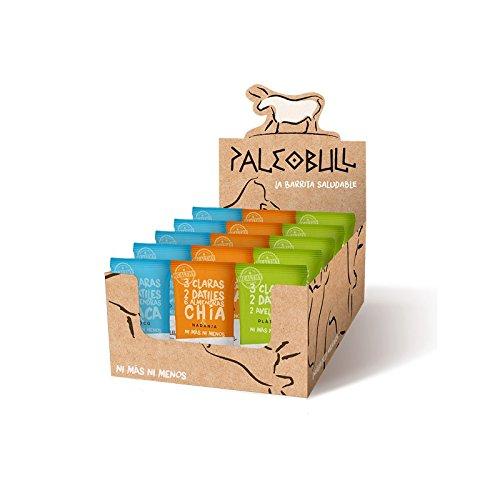 Barritas Proteicas Paleo 100% naturales - Altas en Proteína - Pack Ahorro 3 sabores (15x50g)