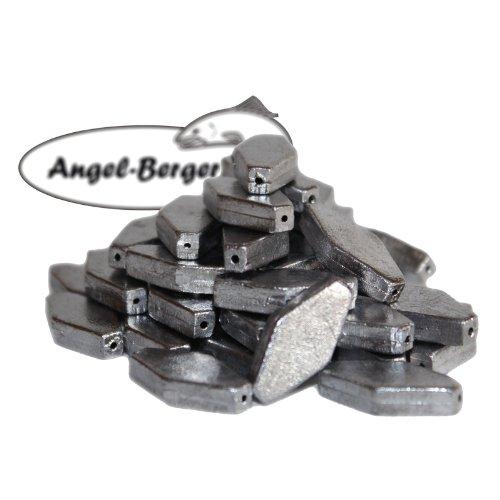 Angel-Berger Sargblei Sechskantblei Angelblei Grundblei (80g)