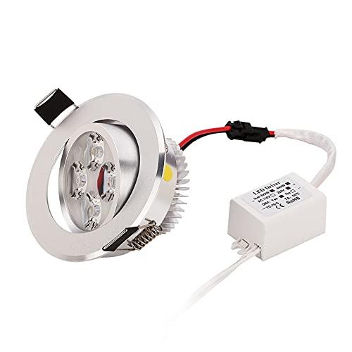 TANGIST Lámpara LED de 50pc LED Lámpara LED 3W 4W 5W Dimmable de alta calidad sobre los mejores accesorios de luz de precio Enviar gratis por más rápido (Emitting Color : Warm White 3000K)
